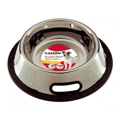 Стабилна метална купа с гумена основа - различни размери
