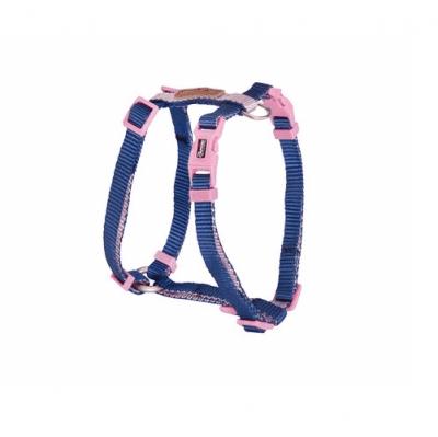 Нагръдник за куче Camon DOUBLEPREMIUM BLUE/PINK, различни размери