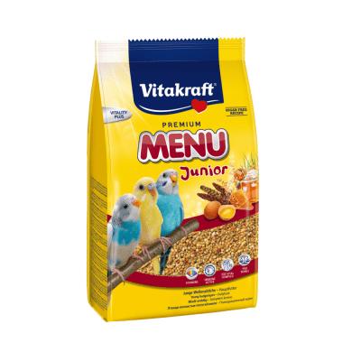 Храна за вълнисти папагали бебета Vitakraft Premium Menu Junior, 500гр