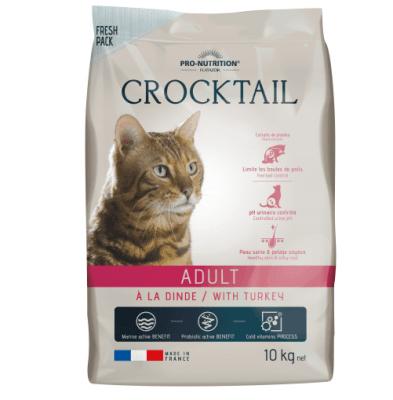 Храна за пораснали котки Flatazor Crocktail ADULT, с пуйка, две разфасовки