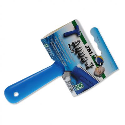 JBL Aqua-T Handy - Шпатула за почистване на стъклата на аквариума 70мм острие от неръждаема стомана.