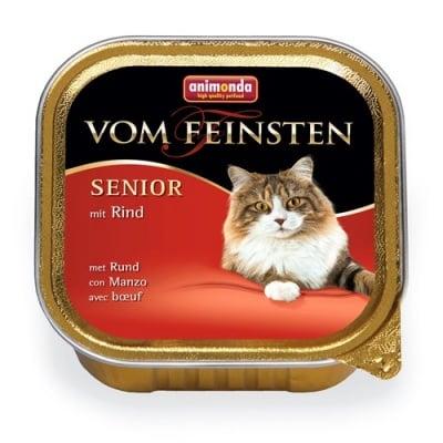 Von Feinsten Senior, 100гр - пастет за възрастни котки ( над 7 г. ) - различни вкусове