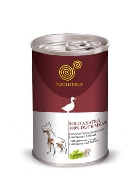 """""""Equilibria"""" - Консерва за кучета с патешко месо"""