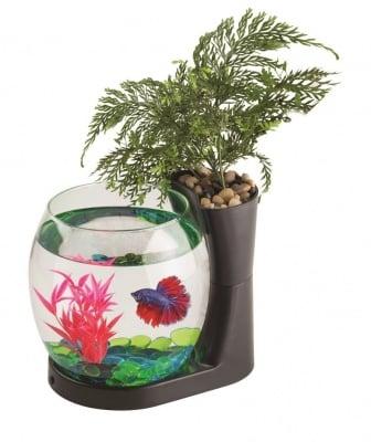 """""""BOL NATURE WORLD NW03 BLACK"""" - Малък аквариум за рибки"""