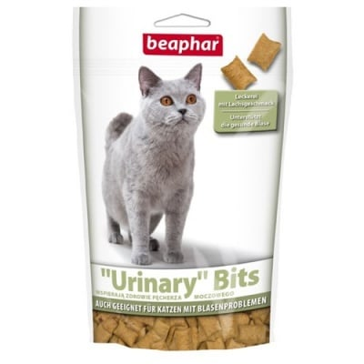 Beaphar Urinary-Bits – хрупкаво лакомство за профилактика на уринарния тракт