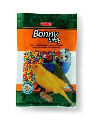 """""""Bonny Birdy"""" - Семена обвити със захар и витамини за вълнисти папагали, канарчета и екзотични птички"""