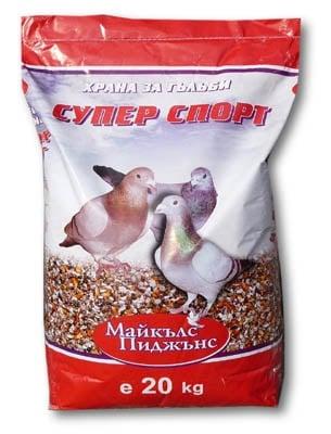 """""""Суперспорт"""" - Храна за гълъби"""