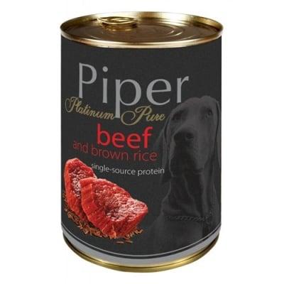 Консерва Piper Platinum Pure за кучета с чувствителна храносмилателна система 400гр - различни вкусове