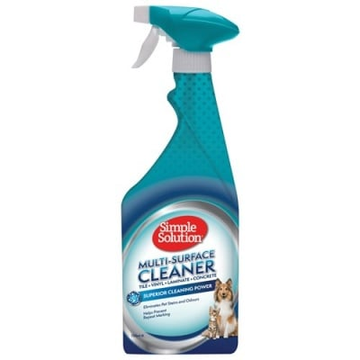 Спрей за кучета и котки Simple Solution Multi Surface S&O Remover против петна и миризми, 750 мл