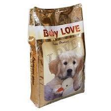 BABY LOVE - Гранулирана българска храна за растящи кучета - насипна х 1 кг, ЛЮБИМЕЦ