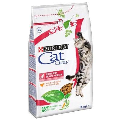Суха храна за котки Purina Cat Chow Adult Special Care Urinary Tract Health, спомага за поддържането на здравето на уринарния тракт, две разфасовки