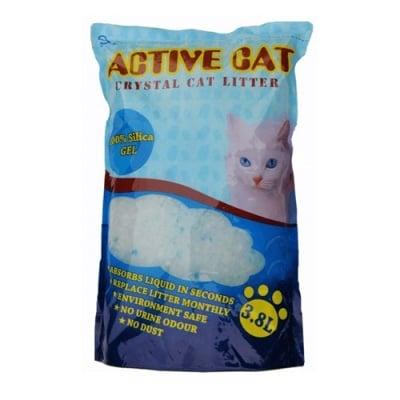 Силиконова Постелка за Котешка Толетна Active Cat 3.8 литра