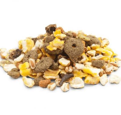 Храна за гризачи, с вкусни парчета зеленчуци и хрупкави зърна Versele-Laga Crispy Snack Popcorn, 1.00кг насипно