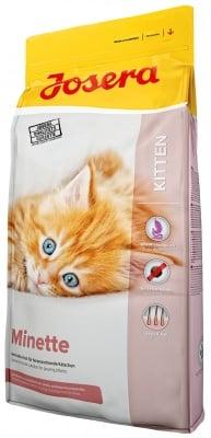 """""""Josera Minette"""" - Храна за подрастващи котенца, бременни и кърмещи котки"""