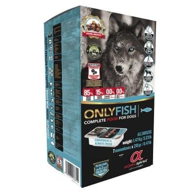 """""""Alpha Spirit Only Fish"""" - Полусуха храна за кучета -  различни разфасовки"""