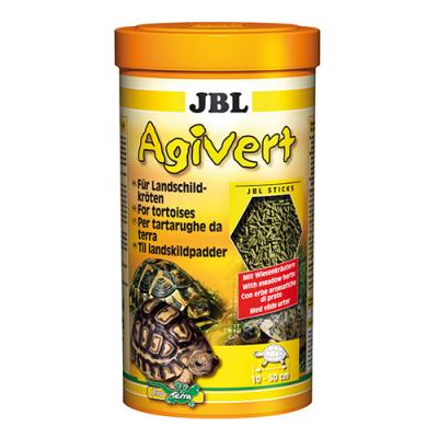 JBL Agivert 100мл; 250мл;1 литър - Храна за костенурки – пръчици с ливадни билки