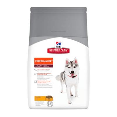 """""""Science Pla Canine Adult Performance"""" - Пълноценна храна с пилешко за кучета с повишени енергийни нужди"""