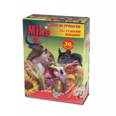 Меню за гризачи със сушени плодове 500гр