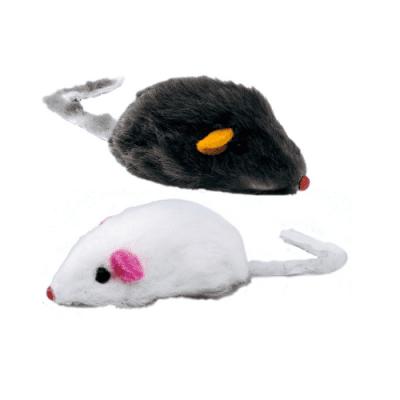 Играчка за коте - плюшена мишка 10 см Ferplast