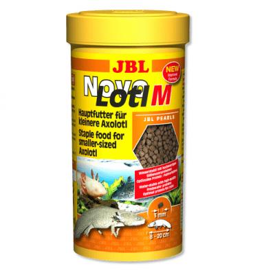 Храна за малки аксолоти JBL NovoLotl M, 250ml