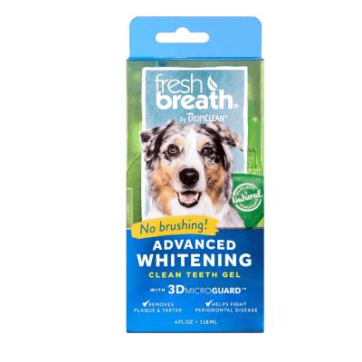 Почистващ гел за кучета против зъбен камък и плака TROPICLEAN ADVANCED WHITENING Gel, 118мл
