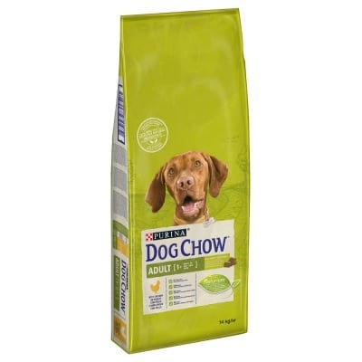 Суха храна за кучета Purina Dog Chow Adult, с пилешко месо, 14.00кг