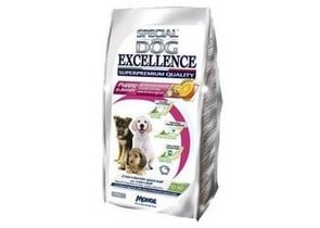 SPECIAL DOG Puppy&Junior Пиле,ориз,ленено семе и цитруси  1.5кг