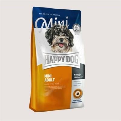 Happy Dog Adult Mini - Храна за дребни породи кучета /с тегло до 10кг/ над 1 година - две разфасовки
