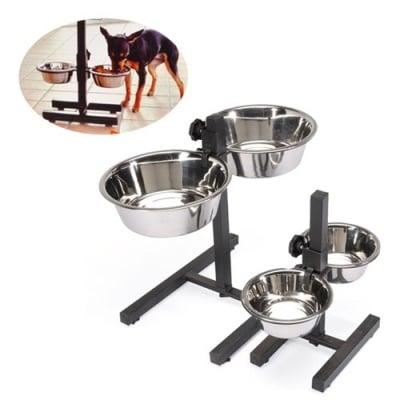 Комплект от 2 Купи метал STAND със стойка Doggy Bar - различни размери