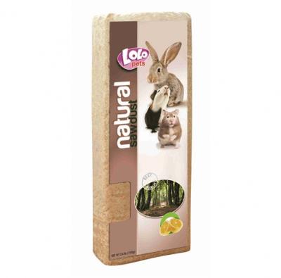 Талаш за Гризачи Lolo Pets, ароматизиран, лимон, 1.1кг