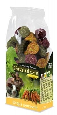 """""""Grainless"""" - Беззърнена допълваща храна за гризачи"""