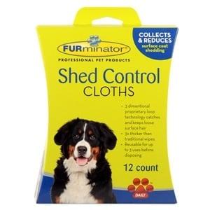 """""""Shed Control"""" - Мокри кърпички против падане на козина за куче"""