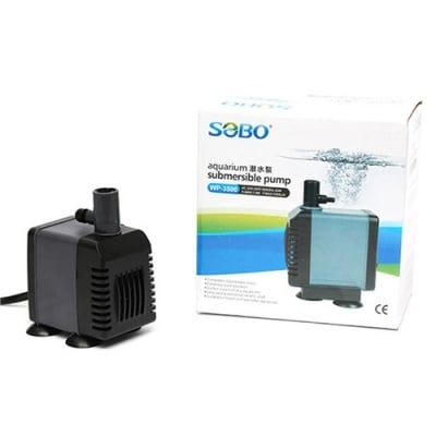 Sobo WP 3500 - помпа за фонтан 25W 1200L/H 1,5m/max lift, Sobo