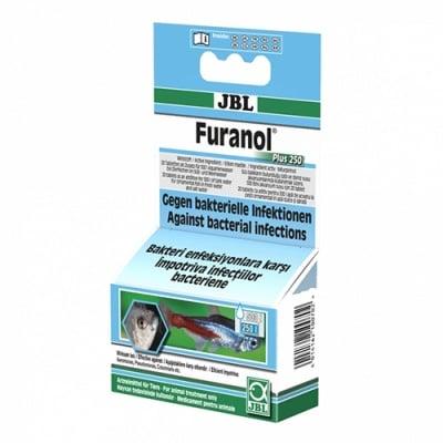 JBL Furanol Plus 250 - таблетки 20бр - Oсновно средство срещу всякакъв вид бактериални инфекции