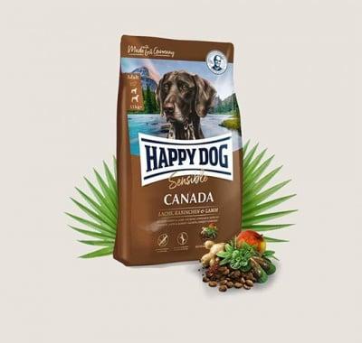 Храна за кучета Happy Dog Sensible Canada склонни към алергични прояви - три разфасовки