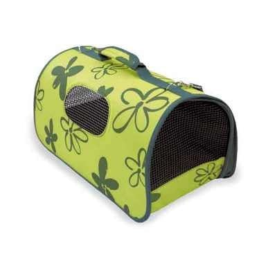 """""""BOLSO"""" - Чанта за пренасяне на кучета и котки зелена"""