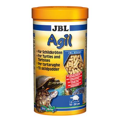 JBL Agil 250мл; 1литър - Храна за костенурки – гранули. Основна храна за водни костенурки