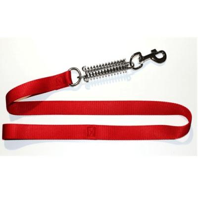 Повод изкуствена лента с пружина - против дърпане на кучето,  различни размери и цветове, Миазоо