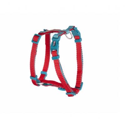 Нагръдник за куче Camon DOUBLEPREMIUM RED/TRAL, различни размери
