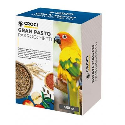 Храна за средни папагали Croci Gran Pasto, 500 гр