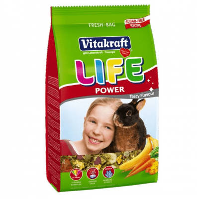 Храна за зайчета Vitakraft Life Power, 600гр