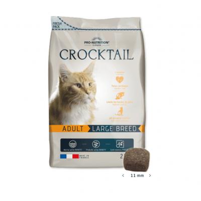 Храна за пораснали котки от едри породи Flatazor Crocktail ADULT Large Breed, две разфасовки