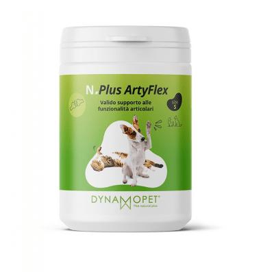 Хранителна добавка за кучета и котки в подкрепа за физиологичната функционалност на ставите Dynamopet N.PLUS ARTYFLEX, 100гр