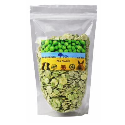 Чипс от пресовани грахови зърна за гризачи Natural Selection, 200гр