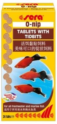 """""""O - nip"""" -  Храна за рибки под формата на таблетки"""