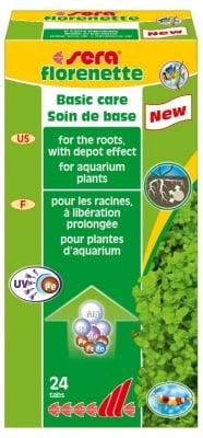 """""""Florenette"""" - Таблетизиран тор за аквариумни растения"""