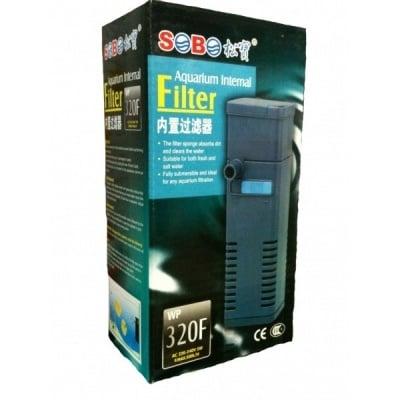 """""""Sobo WP 320 F"""" - Вътрешен филтър за аквариум"""