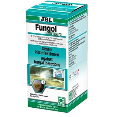 JBL Fungol Plus 250- 200ml - Срещу гъбични инфекции и плесен на хайвера по сладководни аквариумни риби