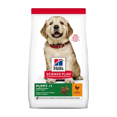 Hills Science Plan Canine Puppy Large Breed - За подрастващи кучета от едри и гиганстки породи (над 25 кг, от отбиването до 18 мес., бременни и кърмещи кучета)