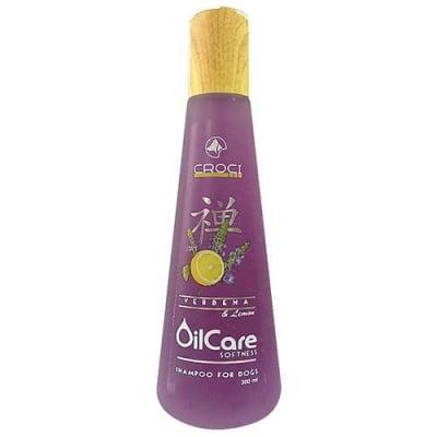 Шампоан за кучета Croci Oilcare Softness, с екстракт от вербена и лимон, 300мл
